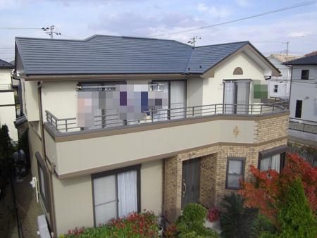 市原市ちはら台外壁屋根塗装工事
