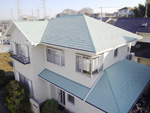 屋根外壁塗装工事 船橋市