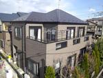 外壁屋根塗装工事 四街道市 サーモアイSiとシリコンクリヤー塗装