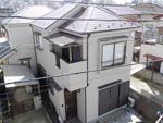 千葉市中央区外壁屋根塗装工事 ファインシリコンフレッシュ、サーモアイシリコン