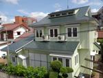 外壁屋根塗装工事 千葉市中央区, シリコン塗装,サーモアイシリコン