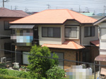 佐倉市 屋根塗装 遮熱断熱塗料ガイナ