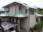 千葉市花見川区 外壁屋根塗装工事 ガイナ屋根塗装 印旛郡酒々井町 45-60D