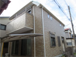 千葉市中央区M様邸 屋根アドグリーンコート遮熱塗装,色:ミントグリーン