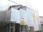 外壁塗装工事 千葉市稲毛区 ハナコレ100水性